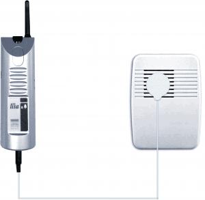 émetteur acoustique de sonnette de porte