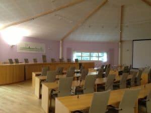 Boucle magnetique salle du Conseil de communauté d'agglo Henin-Carvin